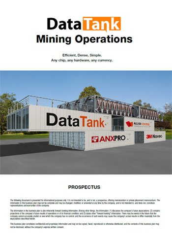 DataTank Mining Ops Prospectus